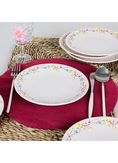 Keramika Pasta Tabağı Renkli